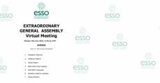 Avrupa Cerrahi Onkoloji Derneği Olağanüstü Genel Kurulu Sanal Toplantısı 15 Haziran Günü yapıldı.